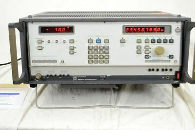 W&G Pegelsender PS-19, Wandel & Goltermann, 80Hz - 25MHz,  DEFEKT