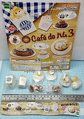 Cafe De Hamster Figure Part III, 6pcs + Display Card - Epoch   ,h#3ok