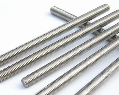 Mild Steel Threaded Bar Rod Studding M6 / 6mm