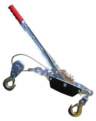 Cable Puller Winch 4000lb Fencing 2 Ton Hoist Turfer Next Day Delivery