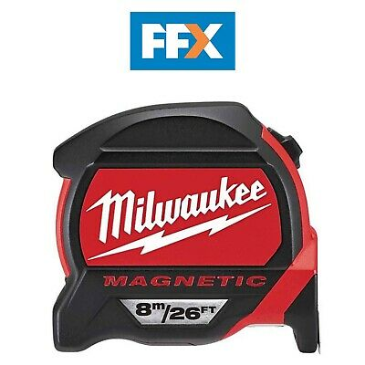 Milwaukee 48227225 8m/26ft Magnetic Tape Measure