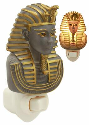 Ancient Egyptian Man Ruler God Pharaoh King Tut Wall Plug In LED Night Light