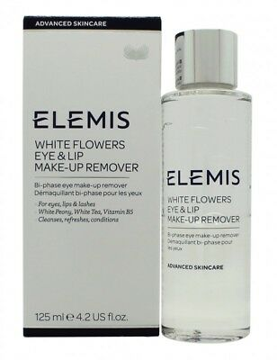Elemis White Flowers Eye & Lip Make-Up Remover  - Women's For Her. New