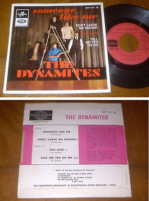 RARE French EP 45t BIEM (7') THE DYNAMITES (Unic French EP 1966)