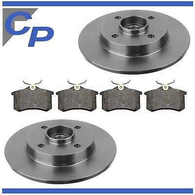Rear Brake Pads Peugeot 307 CC 2.0 16V 3B 03-08 Petrol 136HP 94.5x46.77x17.6mm