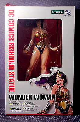 KOTOBUKIYA_DC Comics Collection__WONDER WOMAN Bishoujo Statue_9 inch_New and MIB