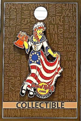 HRC Hard Rock Cafe Philadelphia 2017 Core Betsy Ross Pin LE Limited Edition New