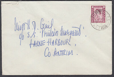 1958 29 SP Northern Ireland Regional Definitive 6d FDC; Doagh/Belfast CDS