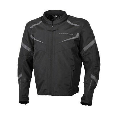 Scorpion EXO Phalanx Textile Sport Jacket Black Mens All Sizes
