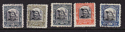 Brazil 1913 Portraits Officials Used