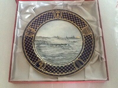 Spode Operation Overlord D Day Commemorative Plate - Naval Assault