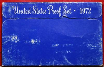 Uncirculated 1972 United States Proof Set Free Shipping