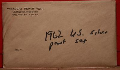 Uncirculated 1962 United States Silver Proof Set Free S/H!