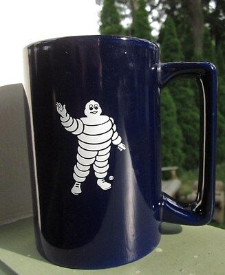 MICHELIN MAN 12 oz. COFFEE CUP MUG Made by M WARE Michelin Tires Advertisement