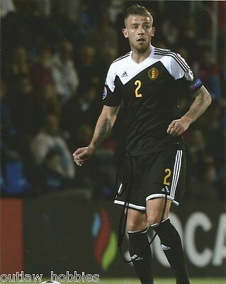 Belgium Toby Alderweireld Autographed Signed 8x10 Photo COA