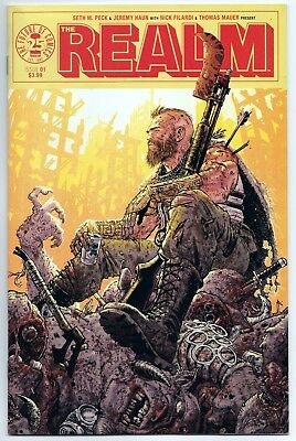 Realm #1 Nm Tony Moore Cover B!