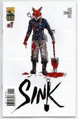 Sink #1 Nm Alex Cormack Cover B Comixtribe!