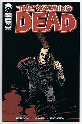 WALKING DEAD #100 NM 2nd PRINT 1st NEGAN IMAGE KIRKMAN!
