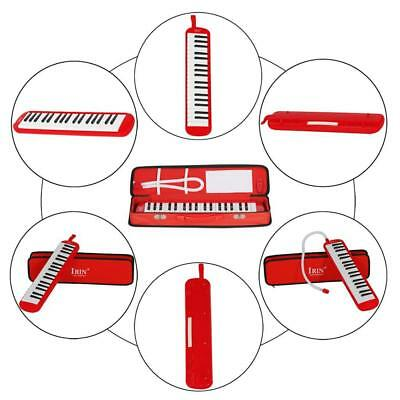 37 Key Melodica Pianica Keyboard Harmonica Music Melodion for Beginner Red