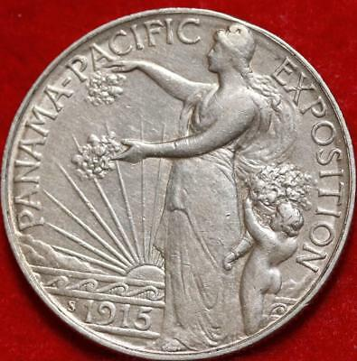 1915 Panama Pacific Expo Silver Comm Half Free S/H