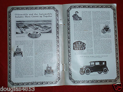 1924 Oldsmobile Motor Works 2 Pg Ad + The White Truck Company + Long Manufacturi