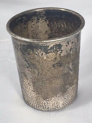 Vintage TOWLE Pattern 82 STERLING SILVER 925 Thimble Shot Glass