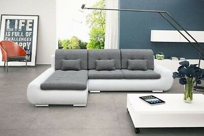 Interior Design Space Corner Couch with Bed Function Sleep Sofa 01582