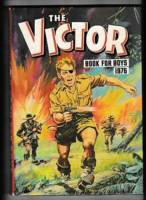 The Victor Book For Boys Annual 1976 Vgc Not Price Clipped No Writing