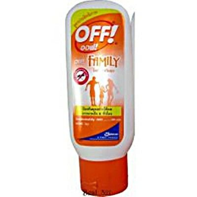 OFF ! MOSQUITO Insect REPELLENT Cream Lotion Family Long Lasting 6 hours + 50ml