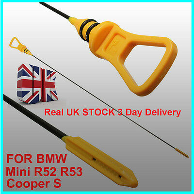 For BMW MINI Cooper S Engine Oil Dipstick R53 Gauge level Stick Probe Check HS