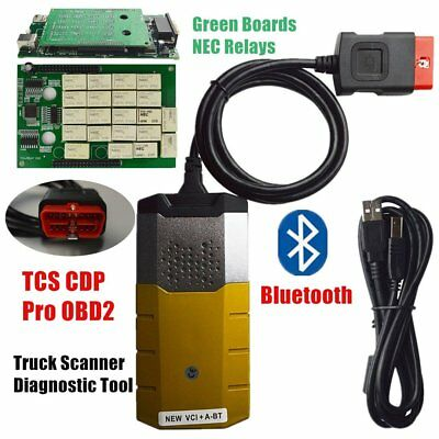 2017 Bluetooth TCS CDP Pro Plus autocom Car and Truck Auto OBD2 Diagnostic Tool%
