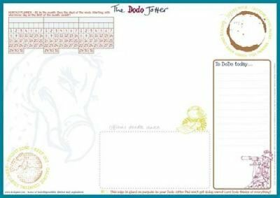 The Dodo Jotter Pad - A3 Desk Sized Jotter-Scribble-Doodle-to-d... 9780857700742
