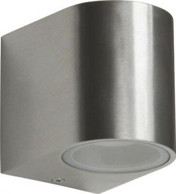 Smartwares Kimi Outdoor Wall Light LED Lamp 5000.466 | Stainless Steel