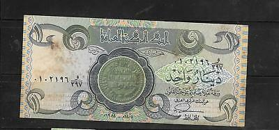 IRAQ #69a 1979 VG USED DINAR  OLD PAPER MONEY CURRENCY BANKNOTE NOTE BILL