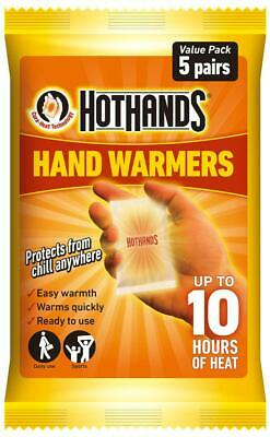 HotHands Handwarmers - 5 Pairs - Warm hands hot pad