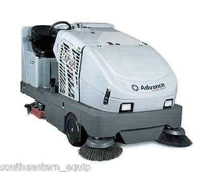 Reconditioned Advance Captor 4800 Rider Sweeper Scrubber