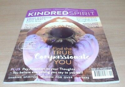 Kindred Spirit magazine Sep/Oct 2017 Compassionate You + Kyle Gray Call to Arms