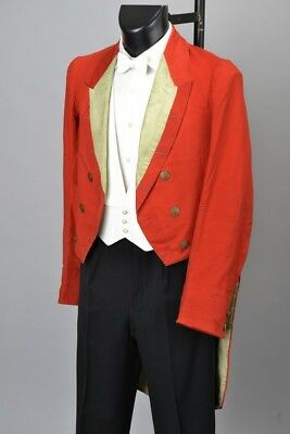 Buccleuch Hunt Edwardian White Tie Evening Dress Tailcoat & Buttons. AQE