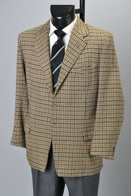 British Officers 1958 Frank Hall Market Harborough Tweed Sports Jacket. CLH