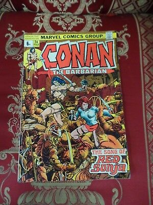 Conan the Barbarian #24 March 1973 Bagged Marvel Comic