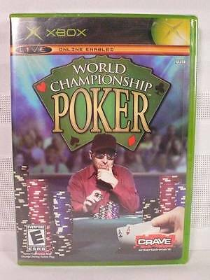 New XBOX WORLD CHAMPIONSHIP POKER 2004 Texas Hold'em/Five Card/Pineapple +