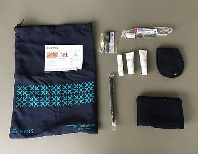 British Airways Club Business Class Elemis Travel Amenity Kit Kulturbeutel NEU!