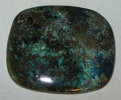 157ct BEAUTIFUL LARGE ARIZONA COPPER CHRYSOCOLLA CABOCHON