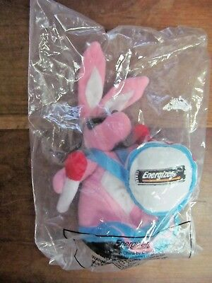 Energizer Bunny Manufacturer's  Advertising Plush Toy  New in Sealed Package