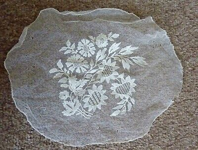 Tully with Embroidery Round Shape