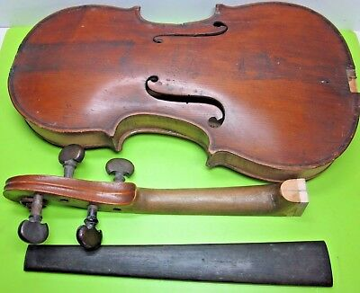ANTIQUE Wm PHILLIPS ENNISKILLEN 1831 IRISH FIDDLE OLD STRINGED INSTRUMENT VIOLIN