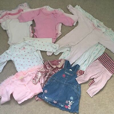 Baby Girls Clothes Bundle 0-3 Months *24 items*