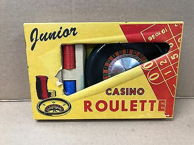 Vintage Original 1950/60's Junior Casino Roulette