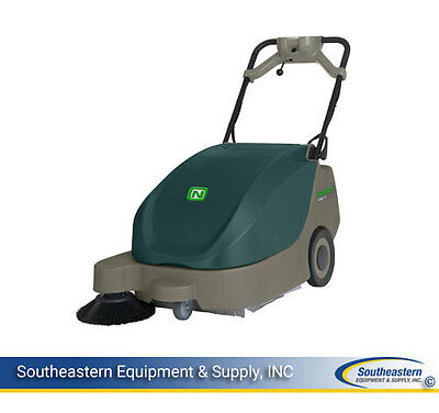 """New Nobles Scout 5 24"""" Battery Walk Behind Sweeper"""