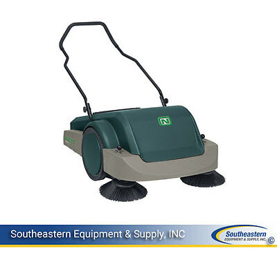 New Nobles Scout 3 Manual Walk Behind Sweeper